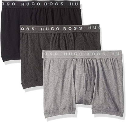 Hugo Boss Cotton Boxer Briefs (3-Pack)