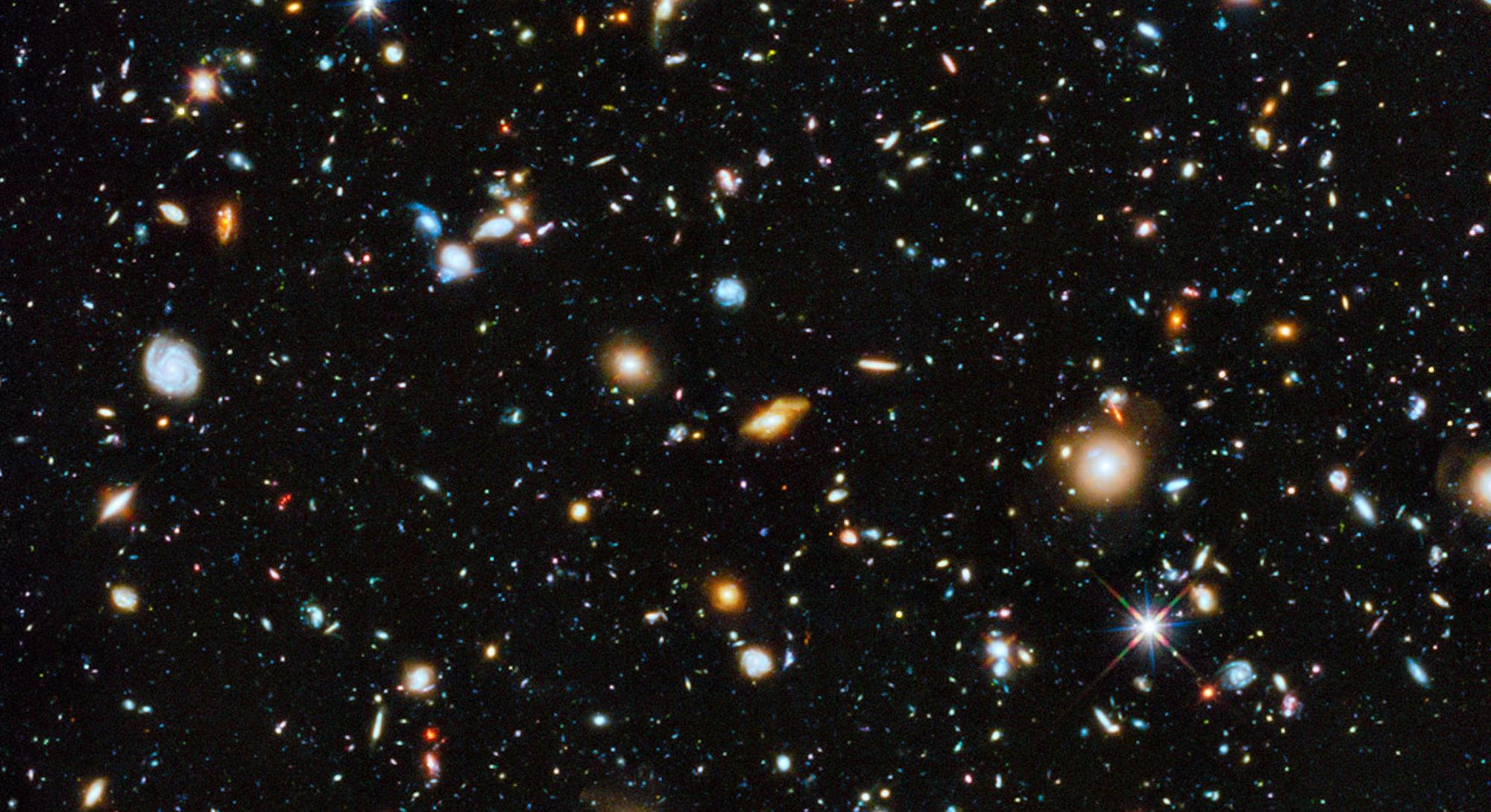 Hubble deep field NASA