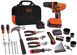BLACK+DECKER 20V MAX Drill & Home Tool Kit (68 Pieces)