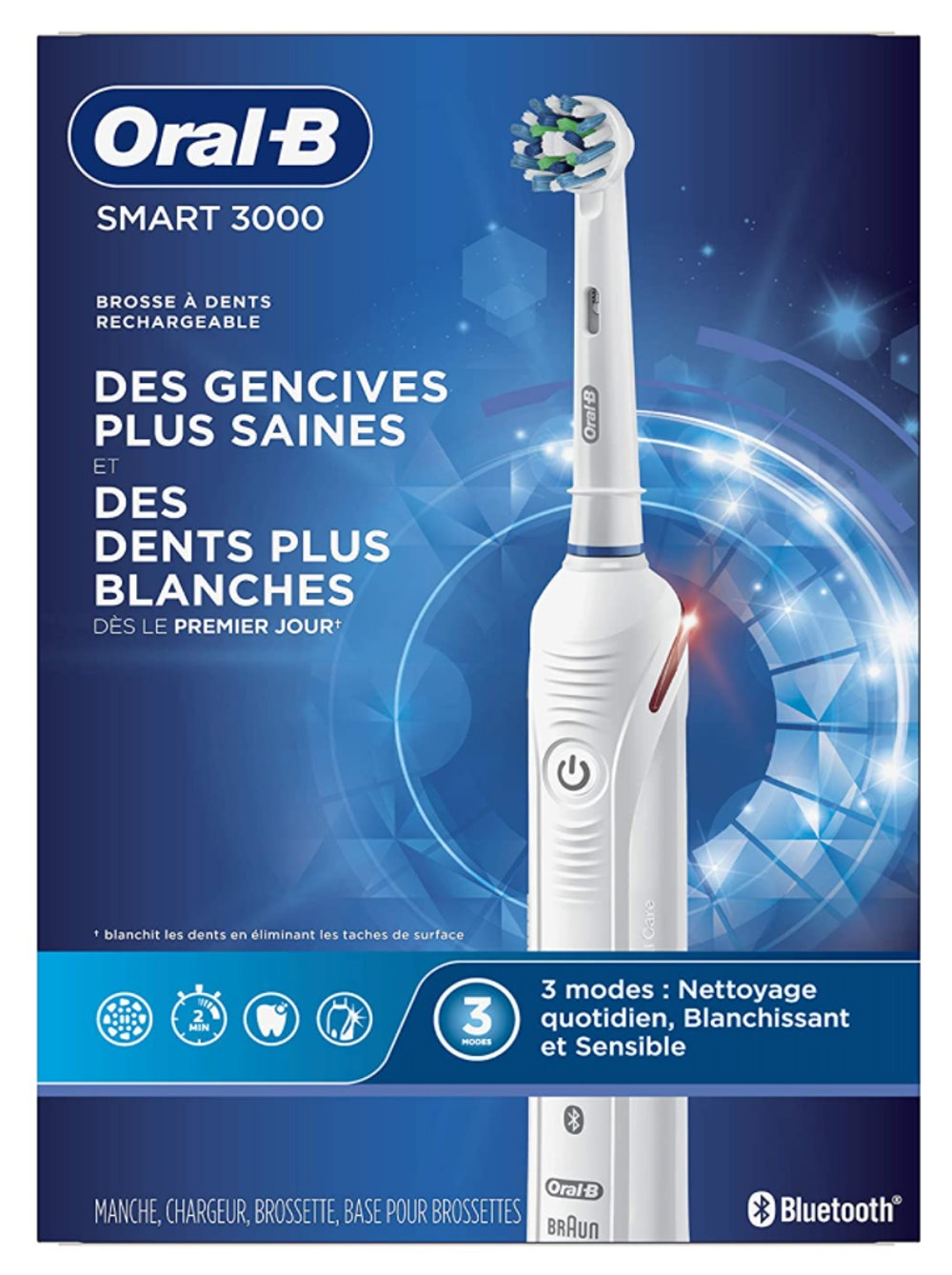 Oral-B Pro 3000 3D White Electric Toothbrush