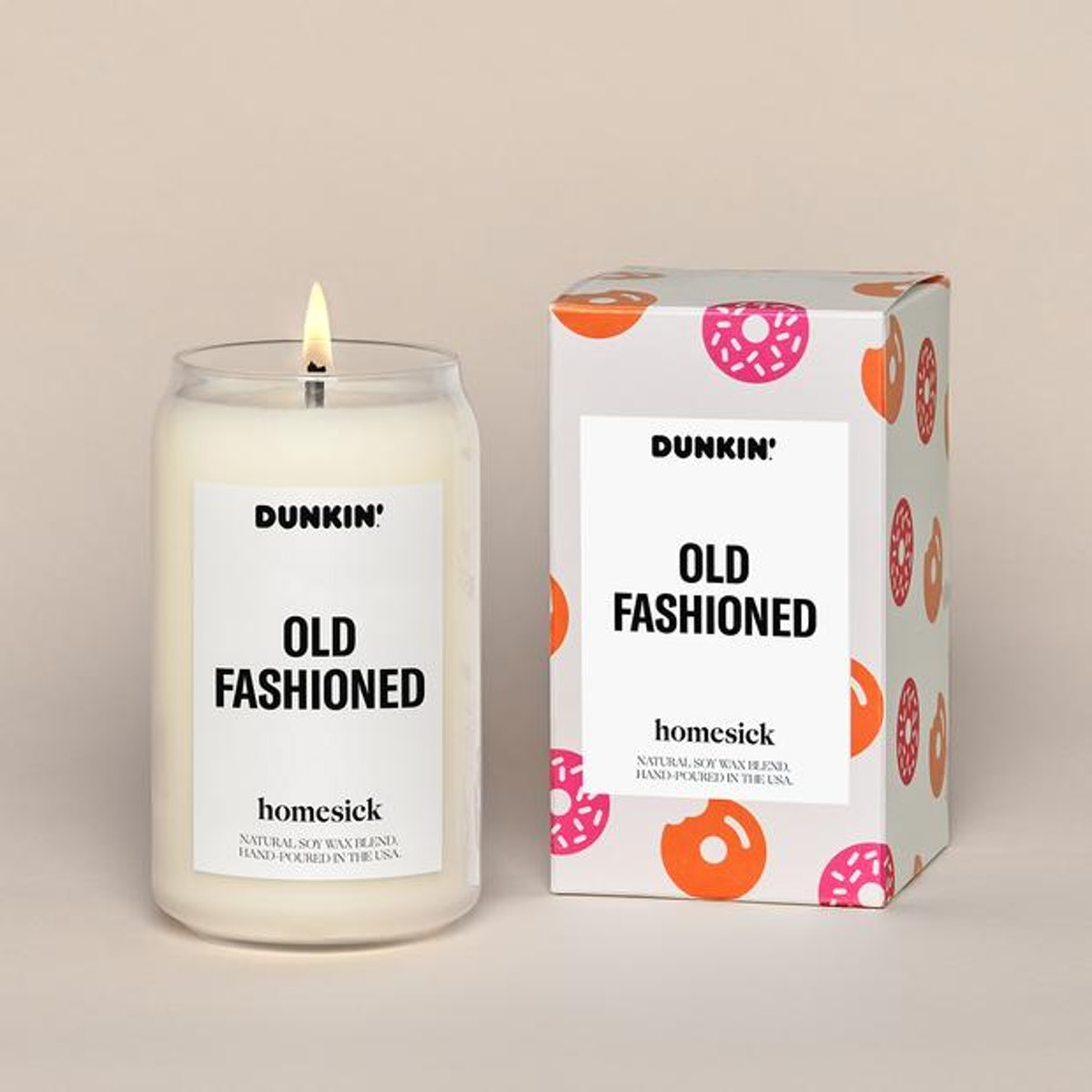 Dunkin'® Old Fashioned Candle