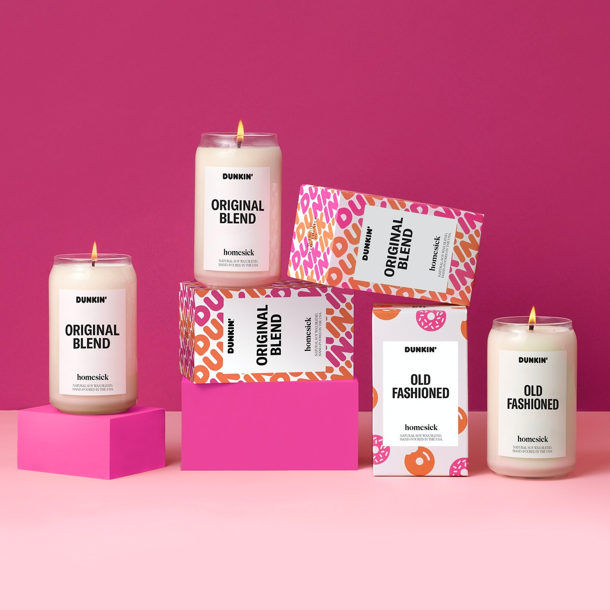 Dunkin's Homesick candle collection is back for 2020.