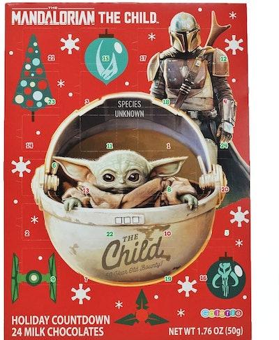 Needzo Star Wars Mandalorian The Child Milk Chocolate Candy Filled 2020 Christmas Advent Calendar