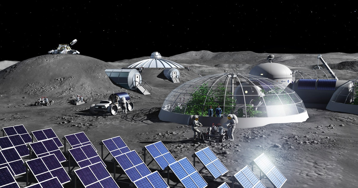 Scientists want to build a lunar habitat inspired by ancient architecture