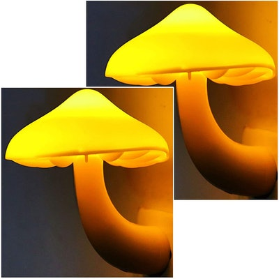 AUSAYE Plug-in Mushroom Night Light