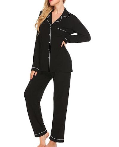 Ekouaer Soft Pajamas Set