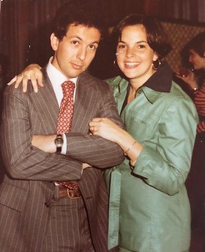 Ina Garten and her husband Jeffrey in 1976.