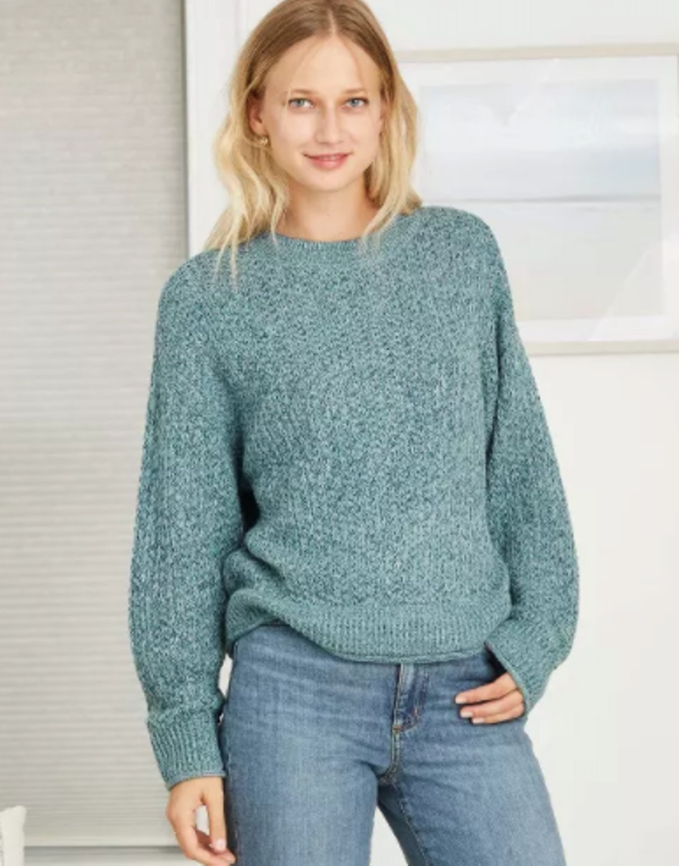 Universal Thread Women's Crewneck Pullover Sweater