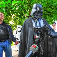 13 times protesters used Star Wars to make a statement