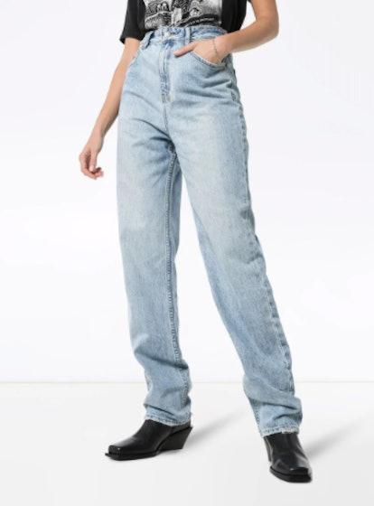 Playback High-Waisted Straight Leg Jeans