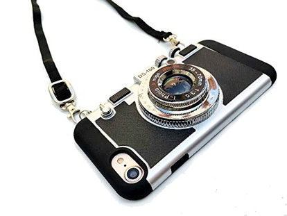 Modern 3D Vintage Style Camera Design Silicone Cover