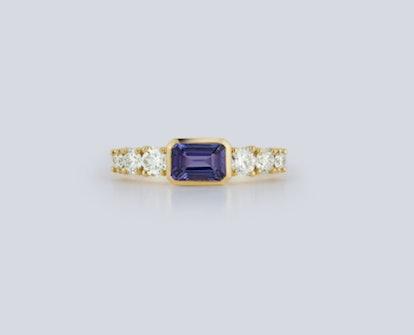 Toujours Tanzanite and Diamond Ring