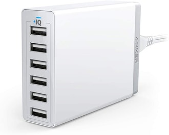 Anker 60W 6-Port USB Wall Charger