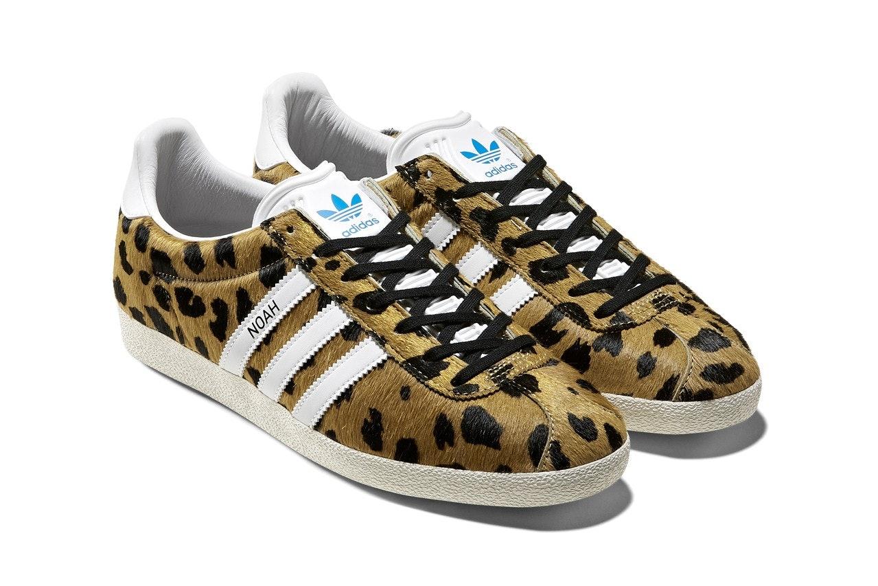 Noah drapes Adidas' Gazelle sneaker in