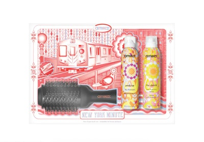 amika New York Minute Hair Blow Dryer Brush Set