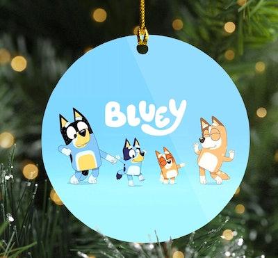 'Bluey' Ornament