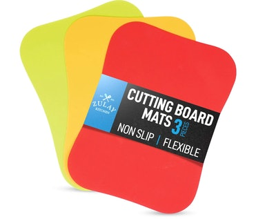 Zulay Flexible Cutting Boards (3-Pack)