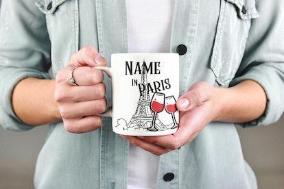 Personalize Paris Mug