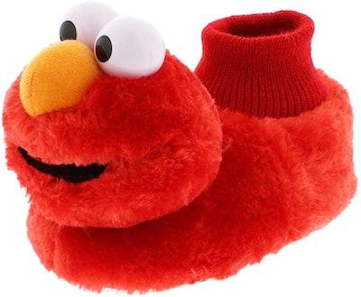 Sesame Street Elmo Sock Top Slippers