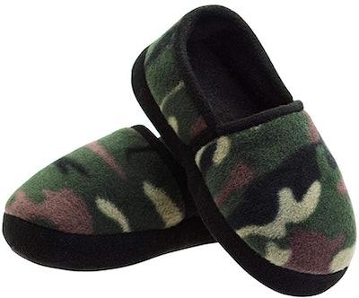 LA PLAGE Slip-On Camouflage Slippers