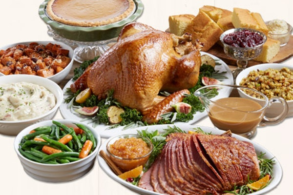 Order these Thanksgiving dinners to-go for a stress-free holiday.
