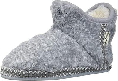 Dearfoams Furry Bootie Slippers