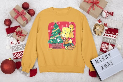 Animal Crossing Christmas Sweatshirt