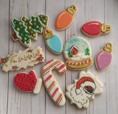 PentUpCookieCompany, Cookies Inspired by Christmas