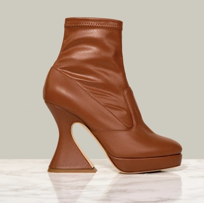 Mista Ankle Boot in Tender Tan