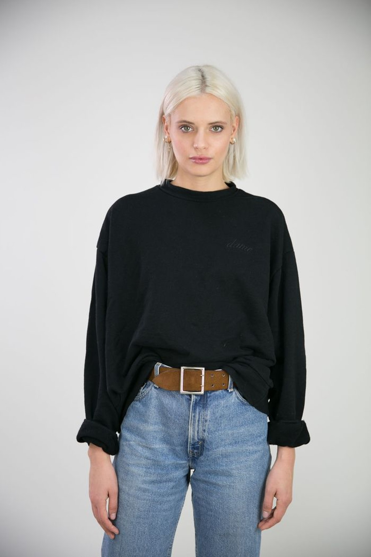 The Oversized Sweatshirt