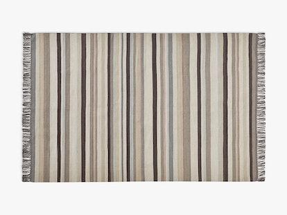 Striped Flatweave Rug
