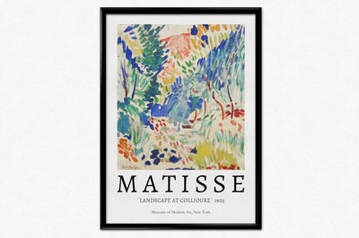 Henri Matisse Exhibition Poster