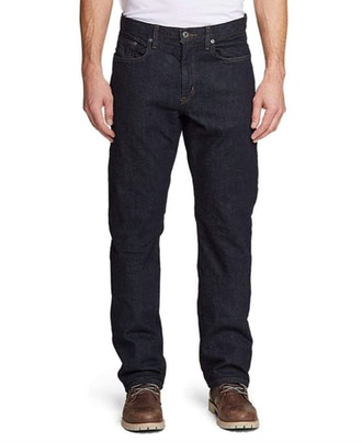 Eddie Bauer Men's Flannel-Lined Flex Jeans