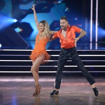 Kaitlyn Bristowe and Artem Chigvintsev on DWTS via the ABC press site
