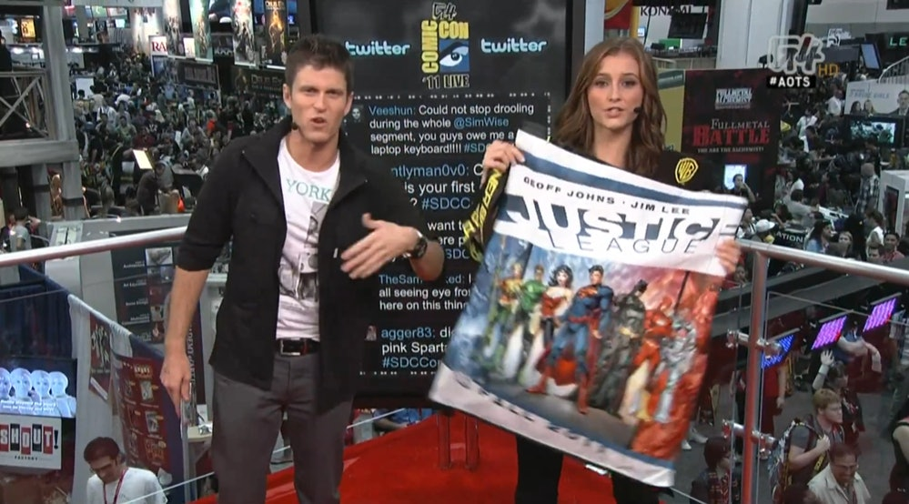 Attack of the Show Kevin Pereira Candace Bailey