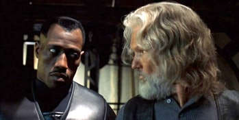 Wesley Snipes and Kris Krisstofferson have real chemistry in Blade.