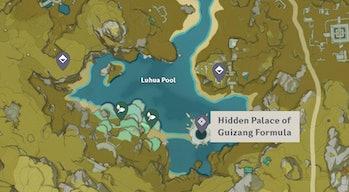 Genshin Impact Lotus Head Locations