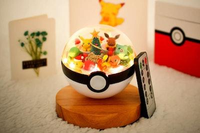 Pokémon Christmas Terrarium