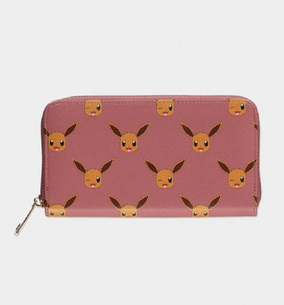 Official Nintendo Pokémon Eevee Zip Around Wallet