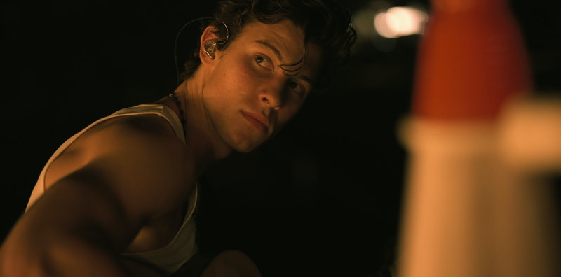 Shawn Mendes in 'Shawn Mendes: In Wonder' via the Netflix press site.