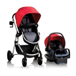 evenflo stroller and car seat travel system