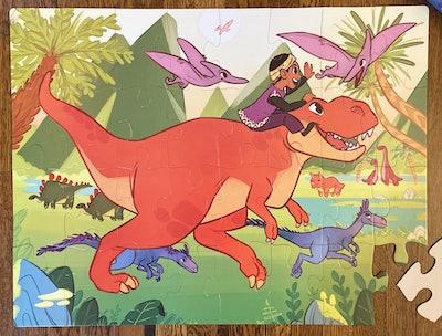 Dinosaur Valley Kids' Floor Puzzle