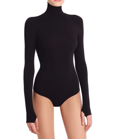 Ballet Body Turtleneck Thong Bodysuit