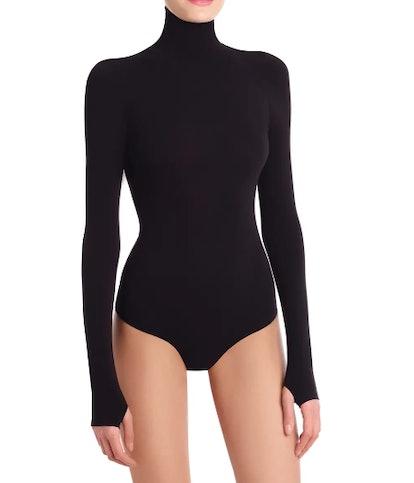 Ballet Body Turtleneck Thong Bodysuit