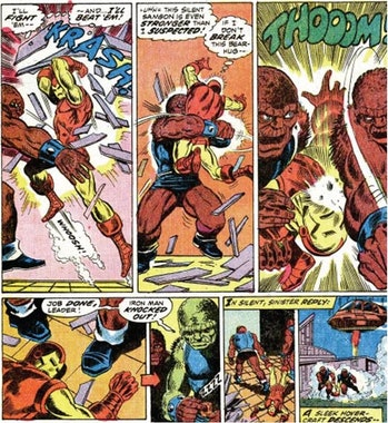 blood brothers marvel iron man