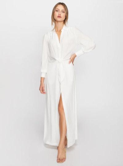 MADSEN MAXI DRESS WHITE
