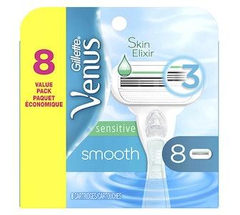 Gillette Venus Smooth Sensitive Women's Blades (8-Pack)