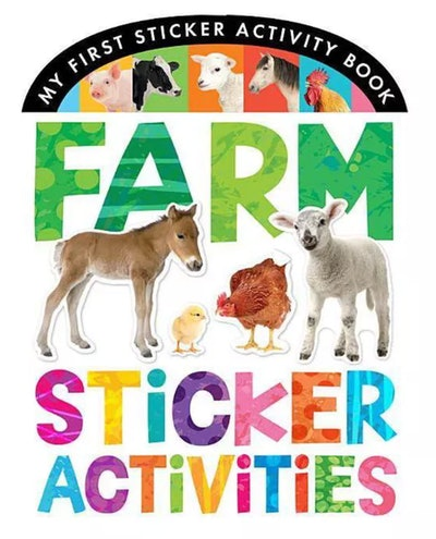 Farm Sticker Activities Book