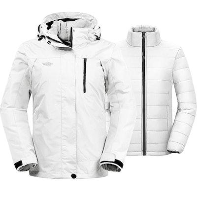 Wantdo 3-In-1 Ski Jacket