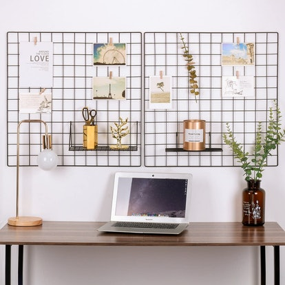 Kaforise Painted Wire Wall Grid Panel